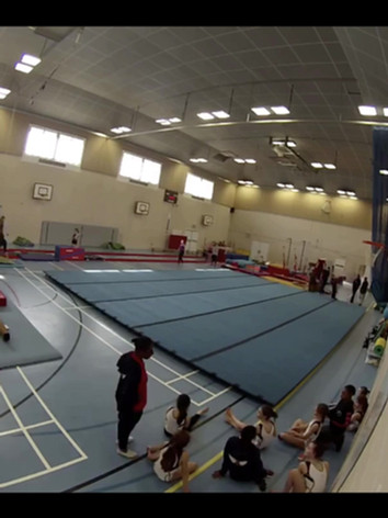Flying Angels Gymnastics Club Floor Time relapse.mp4