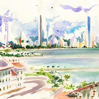 Vista desde la azotea, Panamá