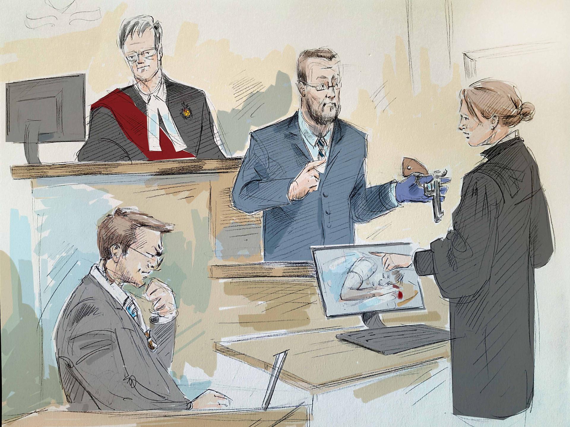 Millard trial Sutherland Toronto