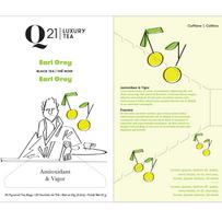 Q21 Tea Package illustration