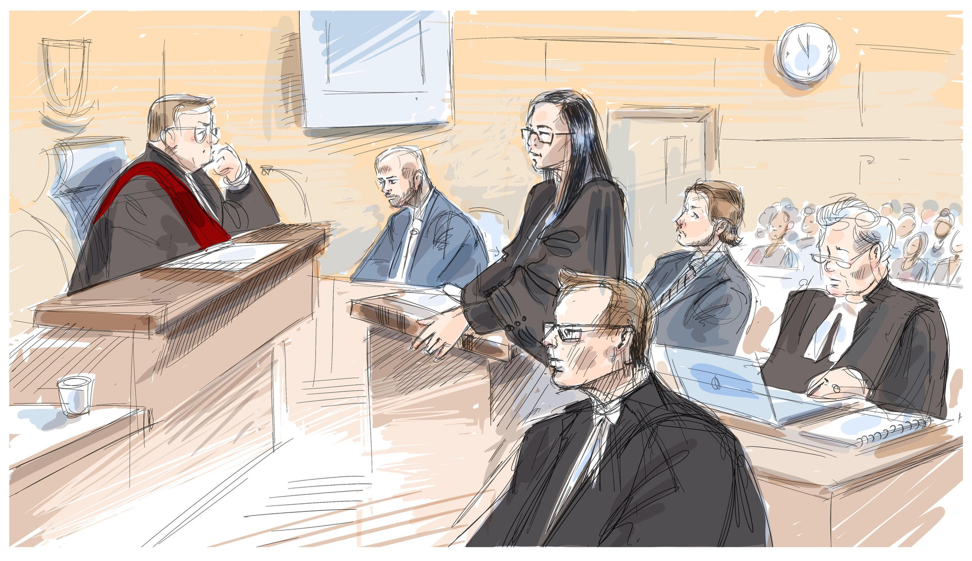 Theriault trial Oshawa Canadian Press