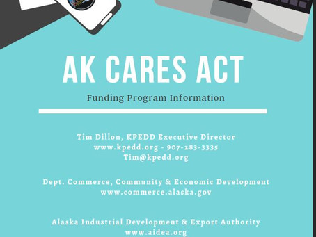 AK CARES GRANT PROGRAM OPENS TODAY!
