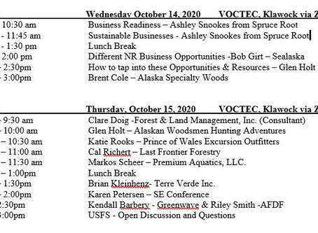 POW Island Residents & POW Chamber membersspeak Oct 14th & 15th