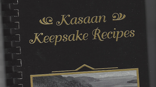 Kasaan Keepsake Recipes
