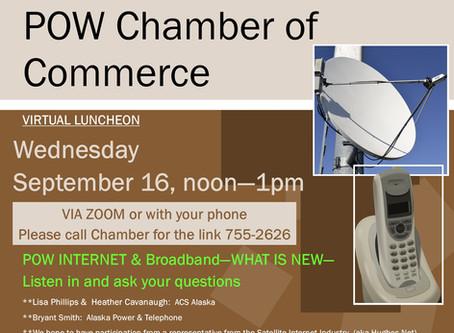 POW INTERNET & Broadband - Virtual Luncheon