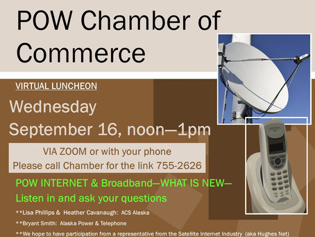 POW INTERNET & Broadband - Virtual Luncheon