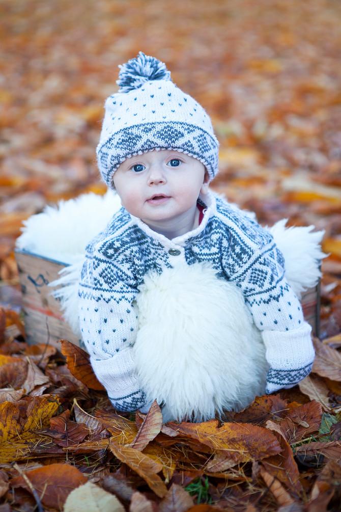 Barnefotografering: Marta