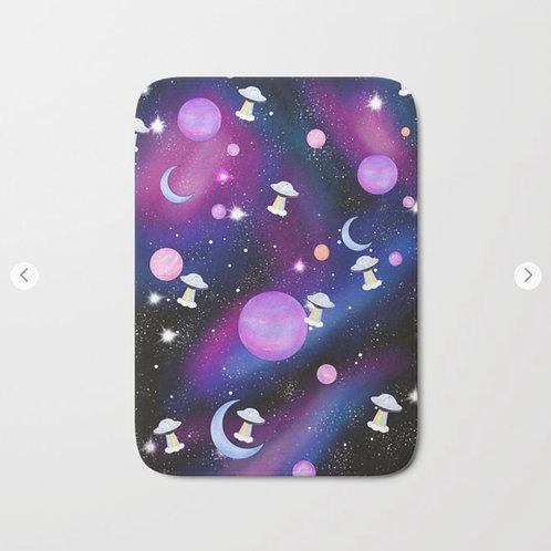 Small Galaxy Bathmat front view