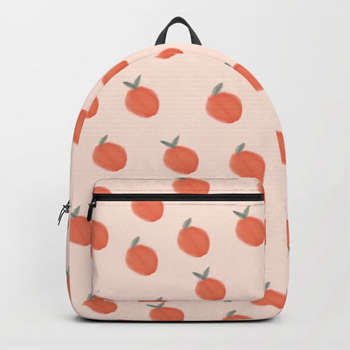 Cream backpack front view