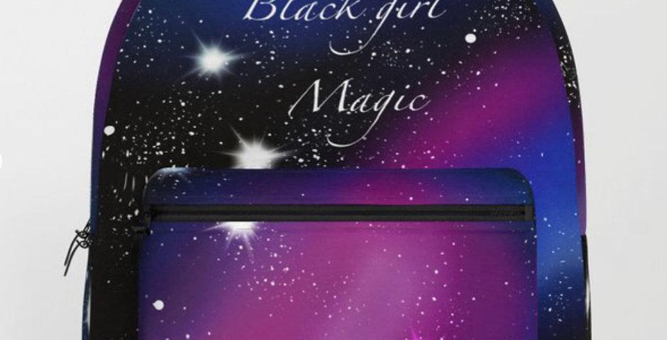 Black girl magic backpack👸🏿