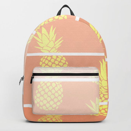 Gold backpack front view
