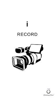 I record