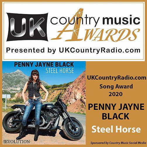 UK country radio Award 2020 -1080-x-1080