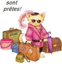 Les valises sont prêtes !  Ne partez pas sans moi.