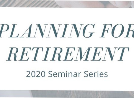 Seminar: Planning for Retirement