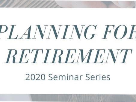 Seminar: Planning for Retirement