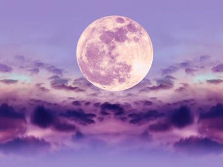 Pink Libran Full Moon + Easter