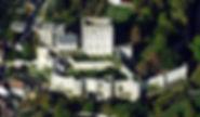 Loches donjon vue aérienne
