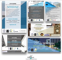 City of Columbia Flyer Designs