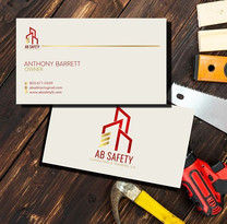 AB Safety Business Card Design
