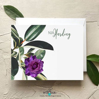 Stationery designed and customized exclu