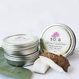 Sola Skin Care Coconut Deodorant The Nes