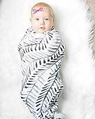 Flamingo Baby Co. Swaddle Blankets Hand