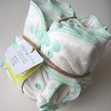 Nuggles Cloth Diapers - BambooLUXE Fitted 2.0