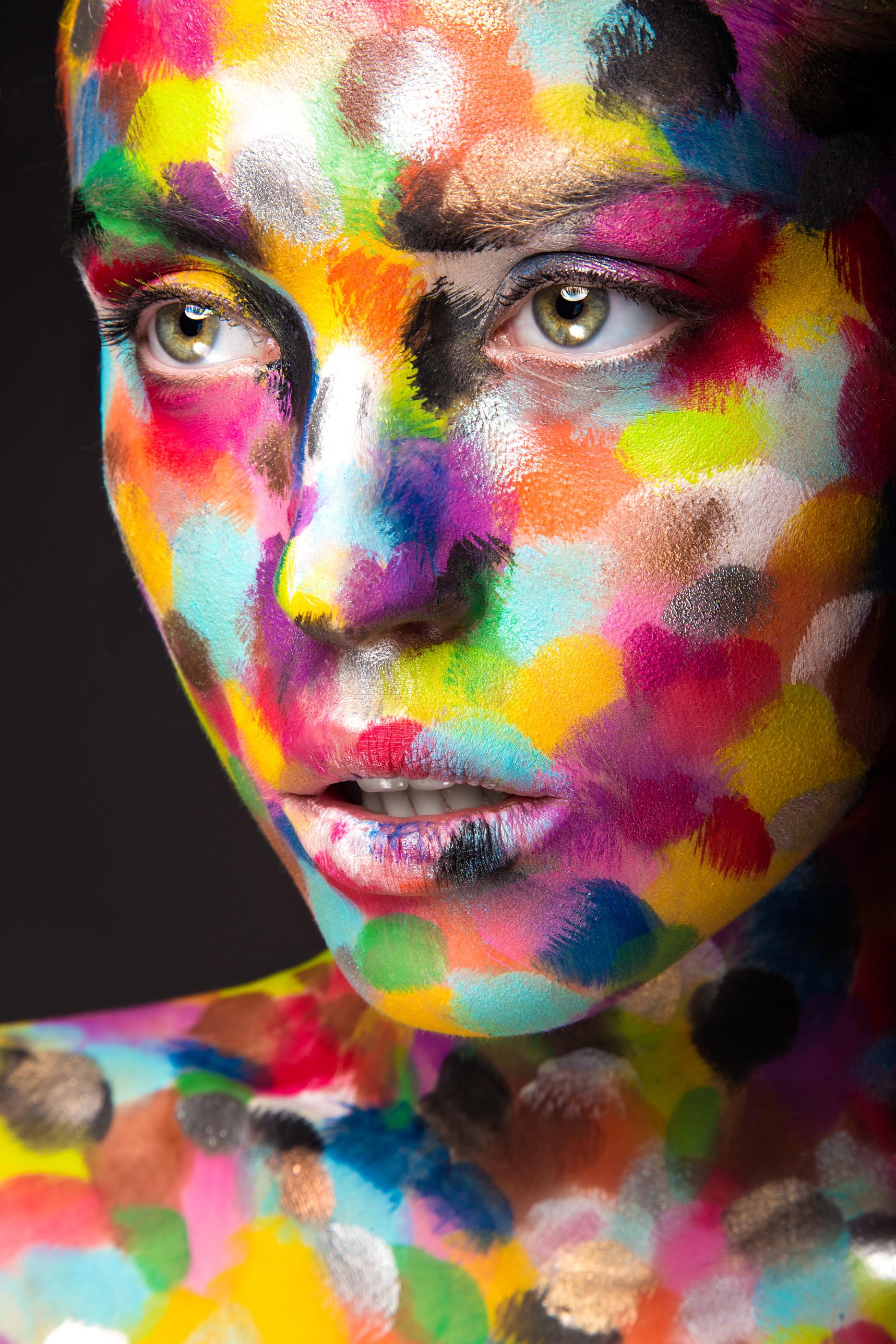 8 Hour Full Body Paint Portraits