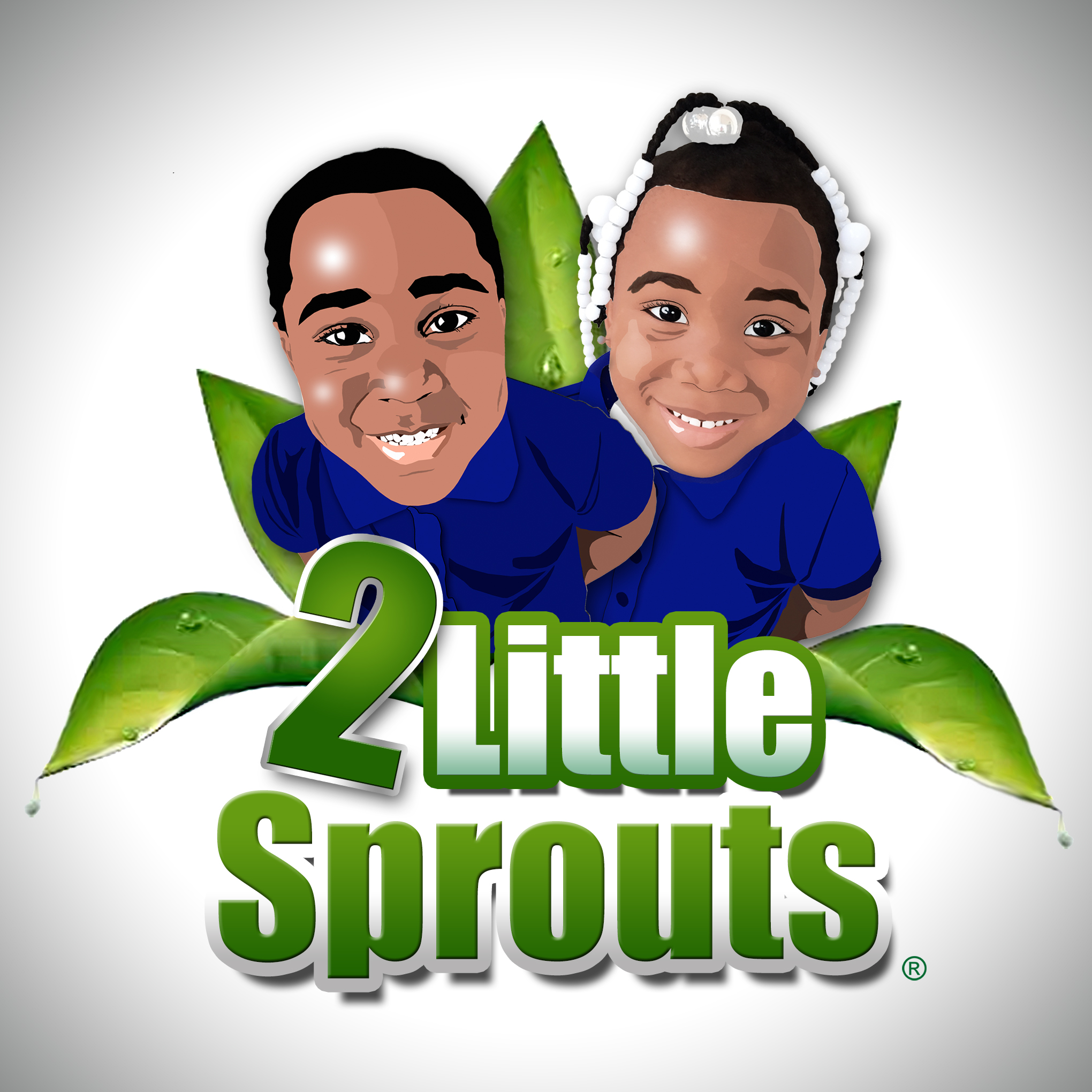 2 Little Sprouts Logo