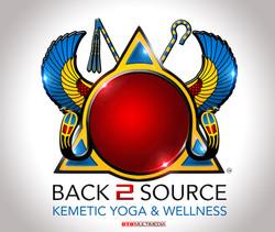 Kemetic Yoga Wellness Logo