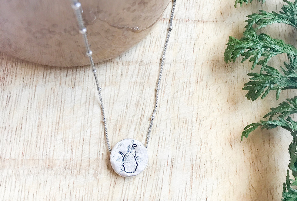The Greenbrier Necklace (Silver)