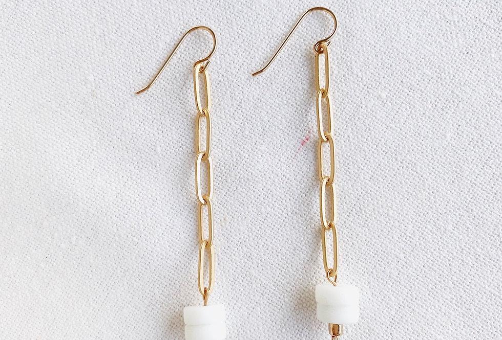 Purist Length Earrings