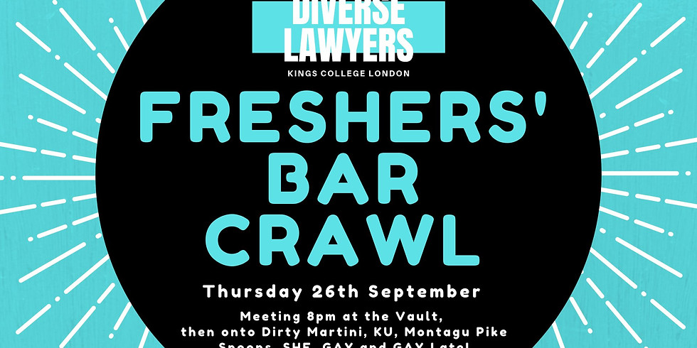 Freshers Bar Crawl