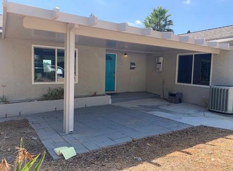 Patio Cover Installation in El Cajon 92120