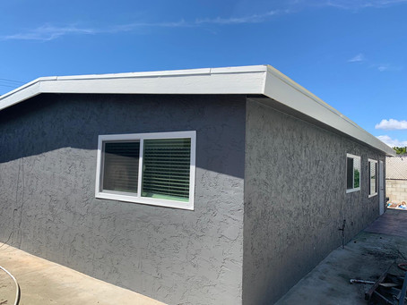 Completed house painting in chula vista, ca 91911.