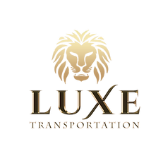 Luxe Transportation Logo on Transp Backg