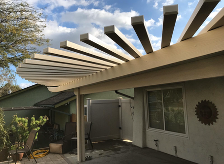 Patio Cover Installation in Poway, CA 92064
