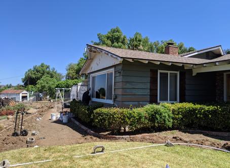 House Painting job in progress in El Cajon 92019