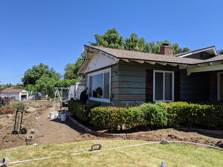 House Painting job in progress in El Cajon 92019