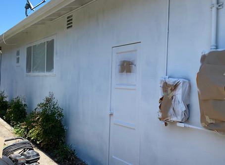 House Painting Job In Progress La Mesa 91942