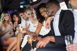 Bridal Party Limo Bus Rentals