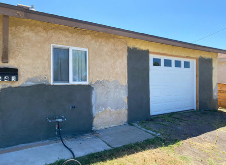 House Painting job in progress in San Diego