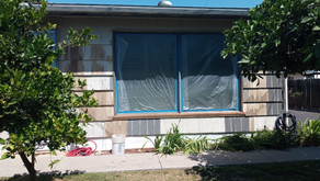 House Painting in progress in Lemon Grove