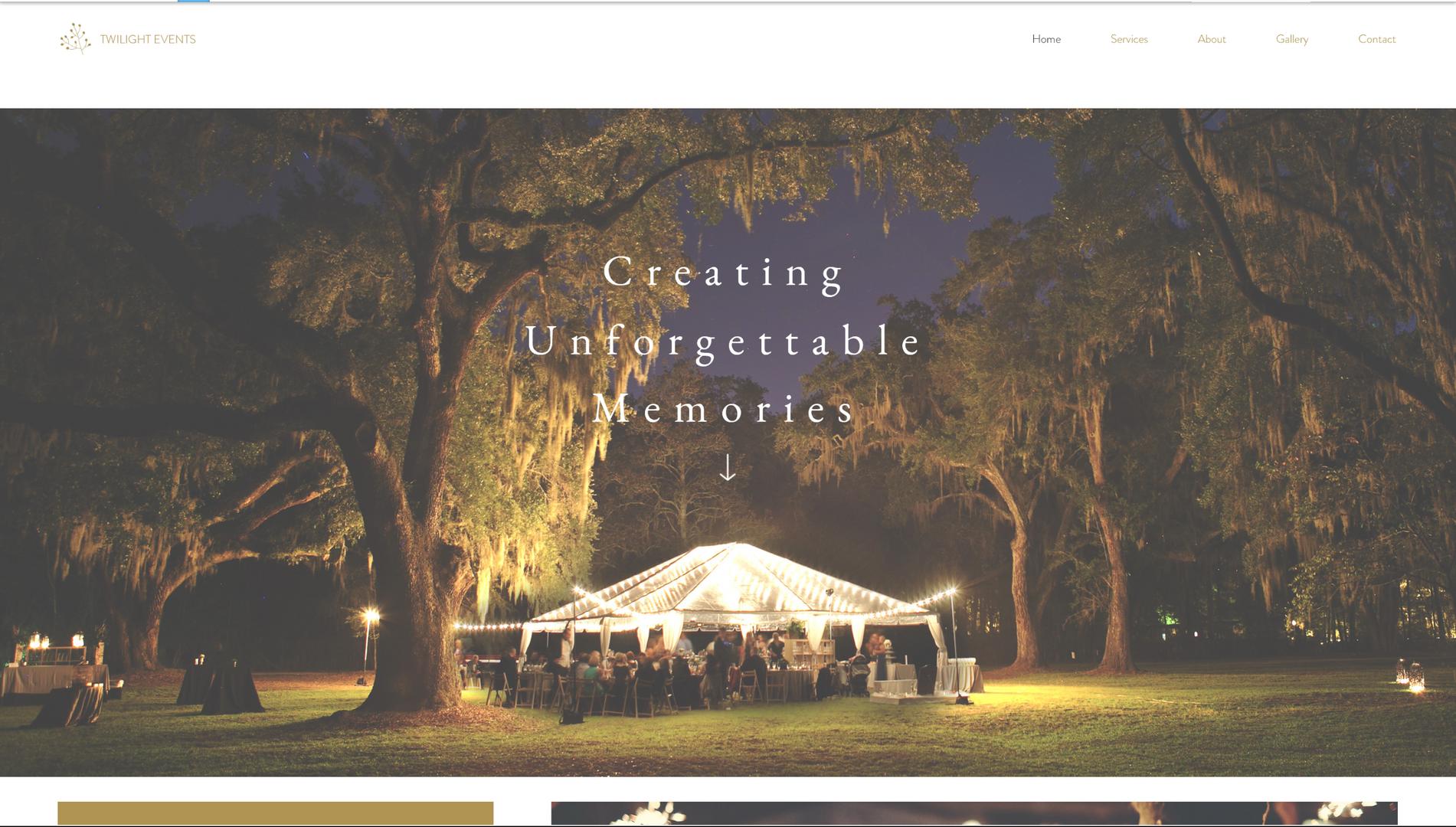event planners sample website header.png