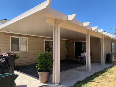 Patio Cover Installation In San Diego 92114