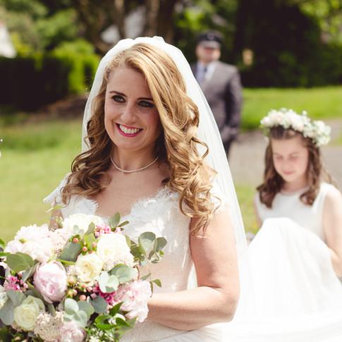 Bride Georgie Coombes