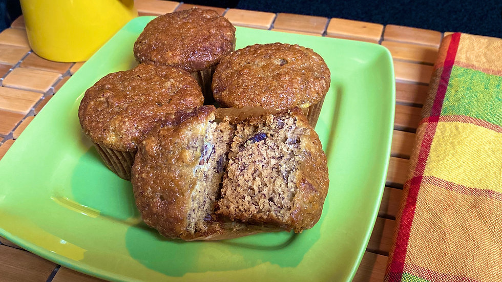 Grandma Fran's Banana Nut Muffins