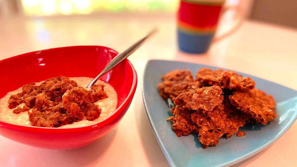 Nutty Oatmeal Texas Pecan Brittle - Gluten-Friendly