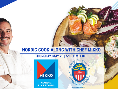 NORDIC COOK-ALONG WITH CHEF MIKKO - Authentic Nordic Cuisine with a Local Twist